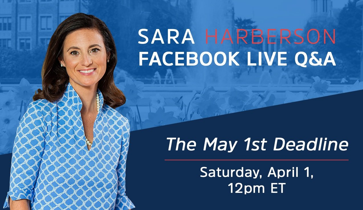 Facebook LIVE Recap and Bonus Questions: The May 1st Deadline