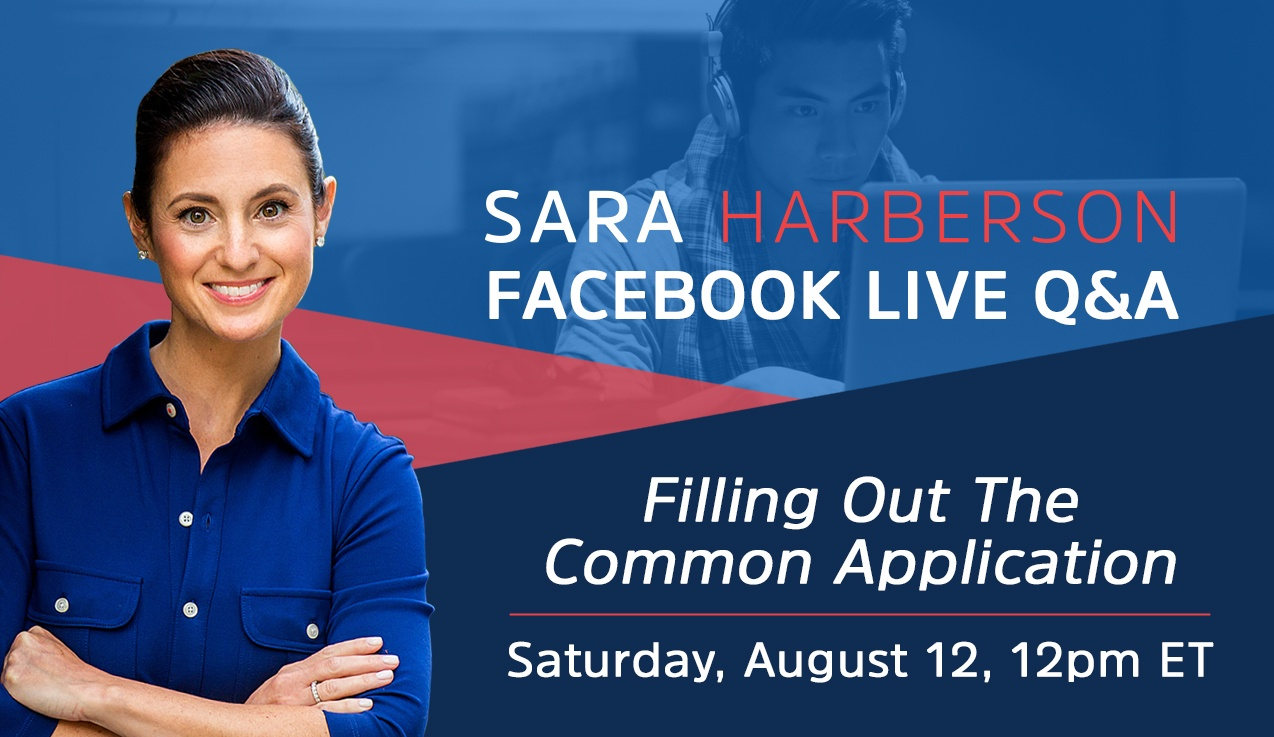 Facebook Live Recap and Bonus Questions: Filling Out The Common Application