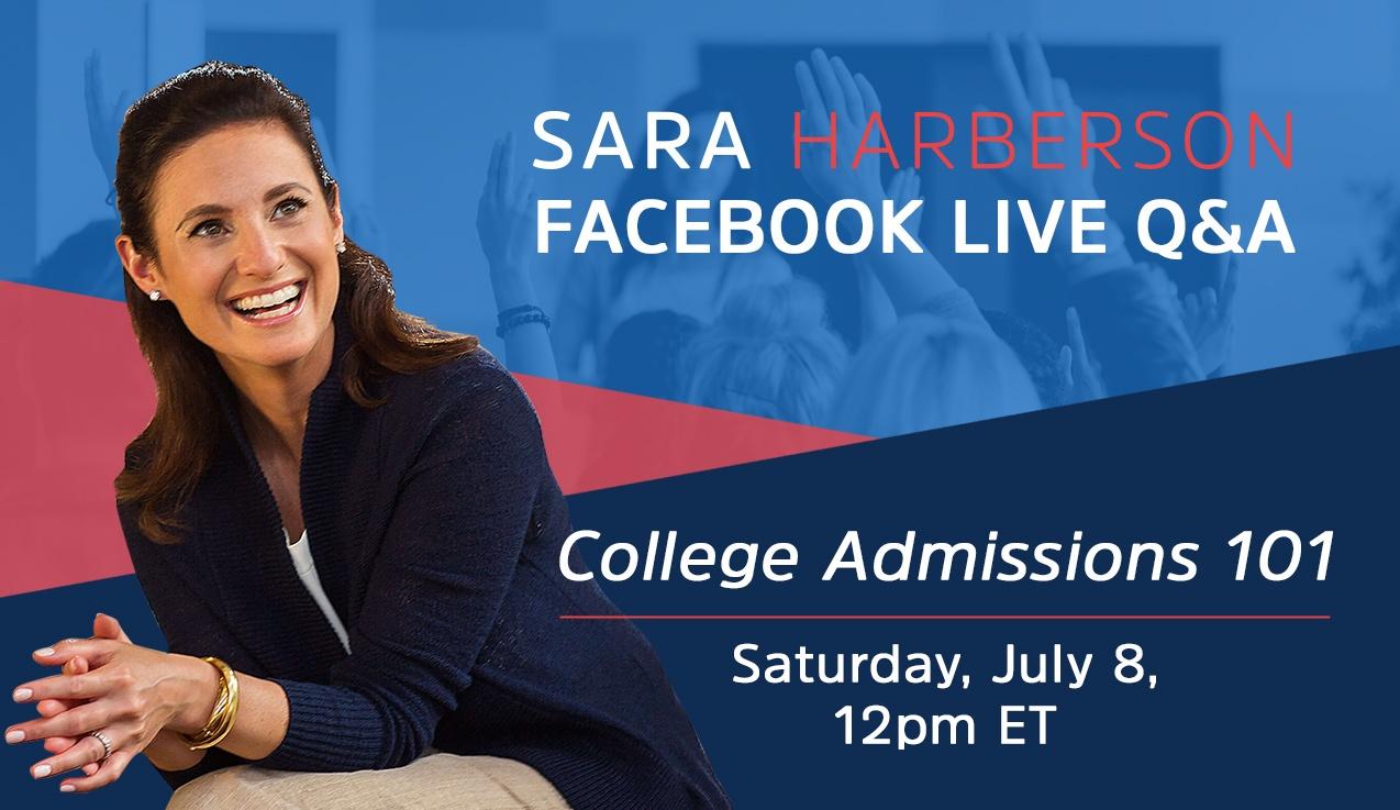 Facebook Live Recap and Bonus Questions: College Admissions 101