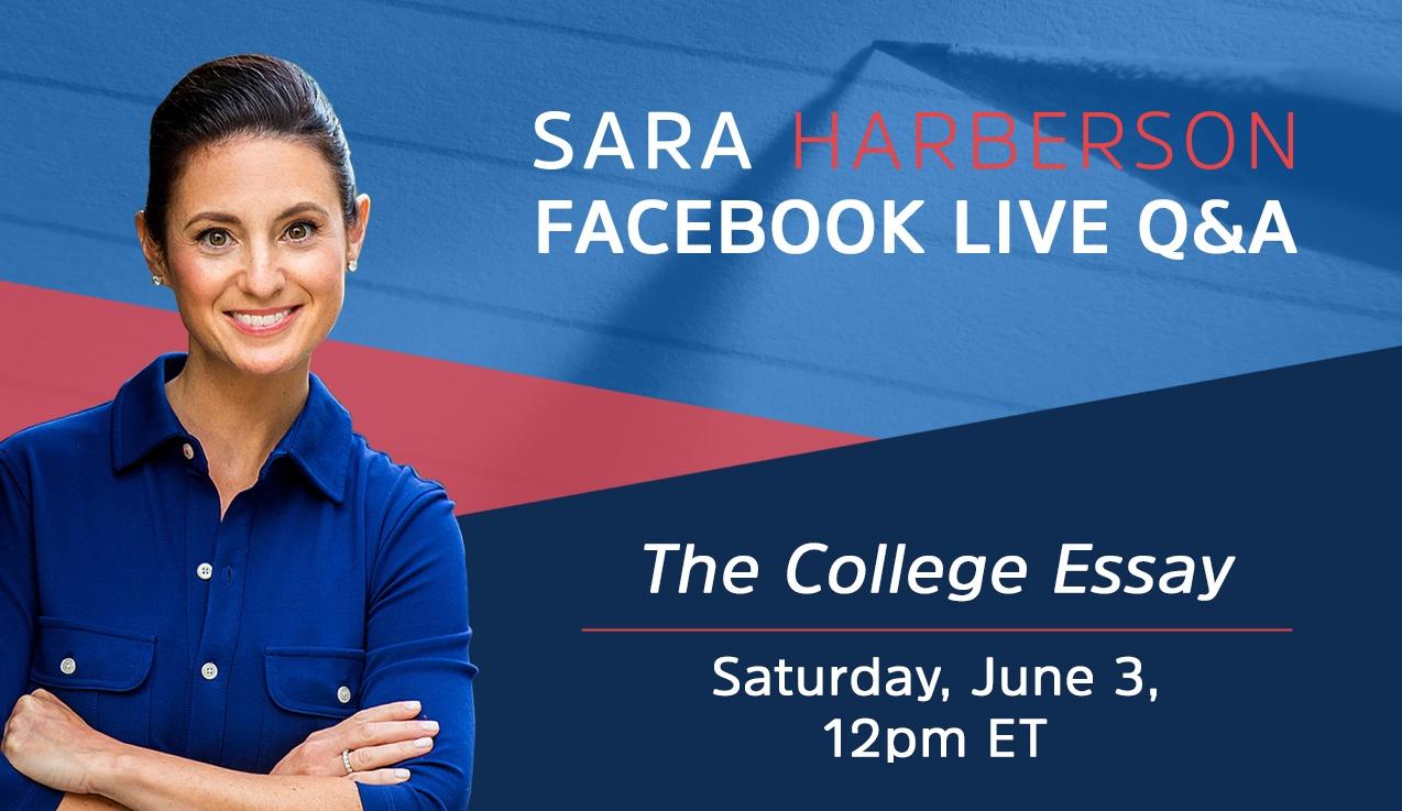 Facebook Live Recap and Bonus Questions: The College Essay