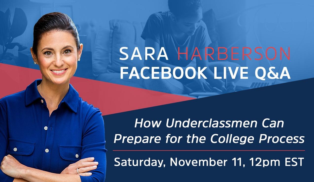 Facebook Live Recap and Bonus Questions: College Admissions Prep for Underclassmen