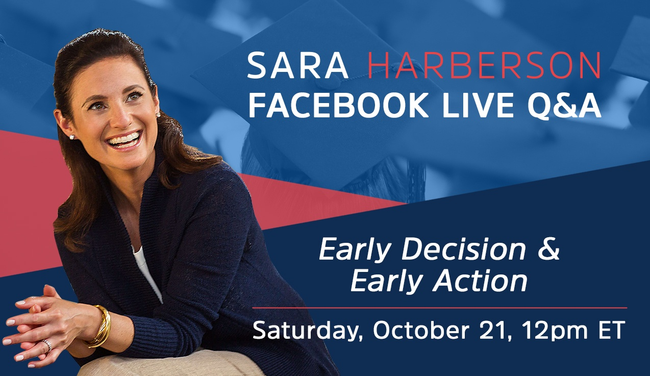Facebook Live Recap and Bonus Questions: Early Decision & Early Action