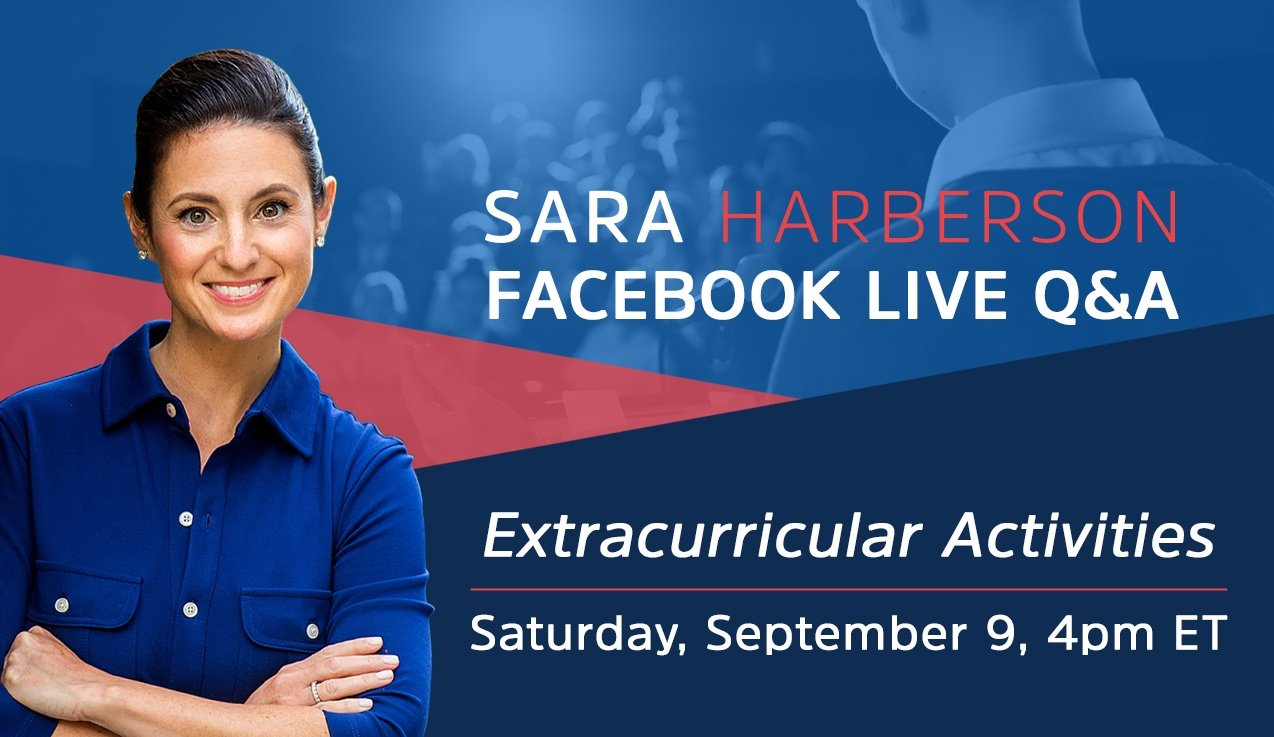Facebook Live Recap and Bonus Questions: Extracurricular Activities