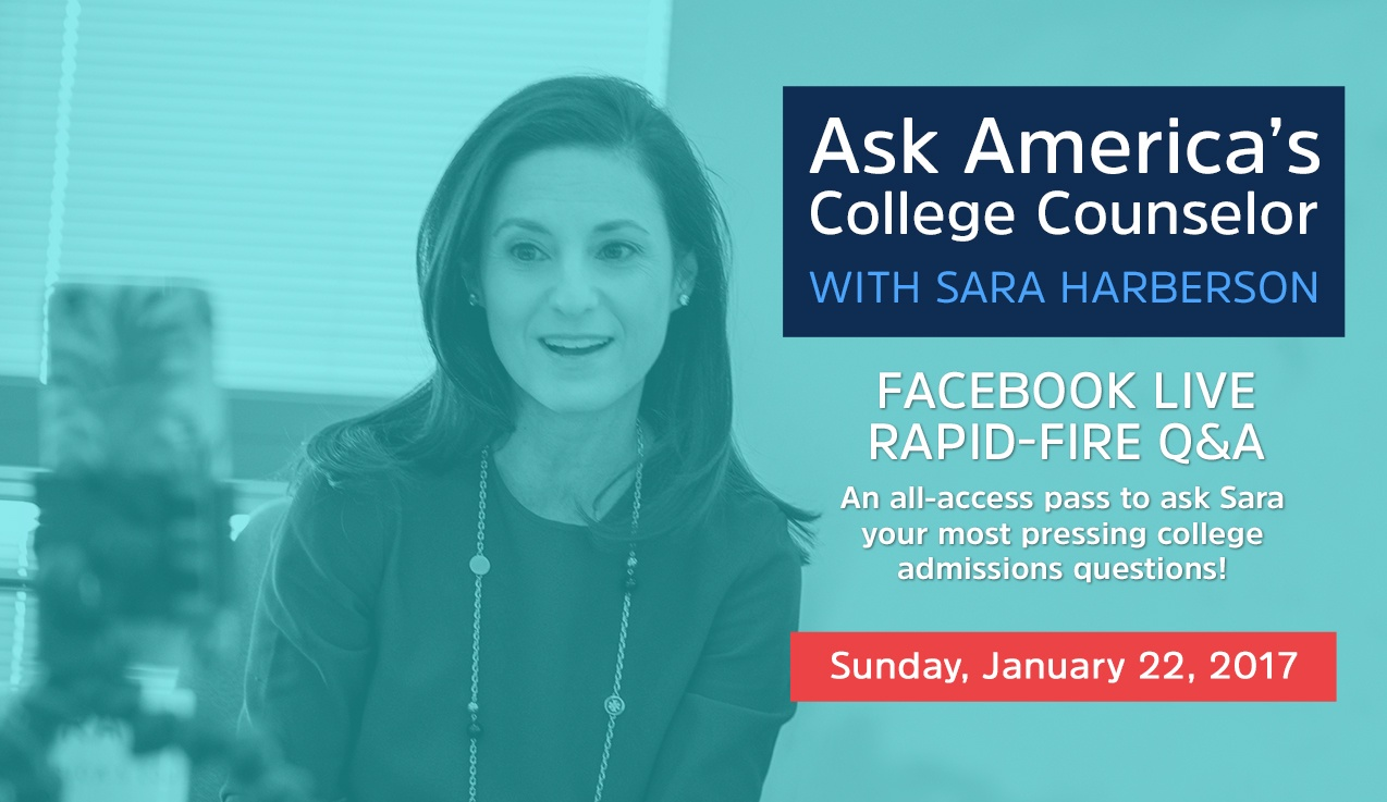 Facebook Live Recap and Bonus Questions: Ask America's College Counselor (1.22.17)