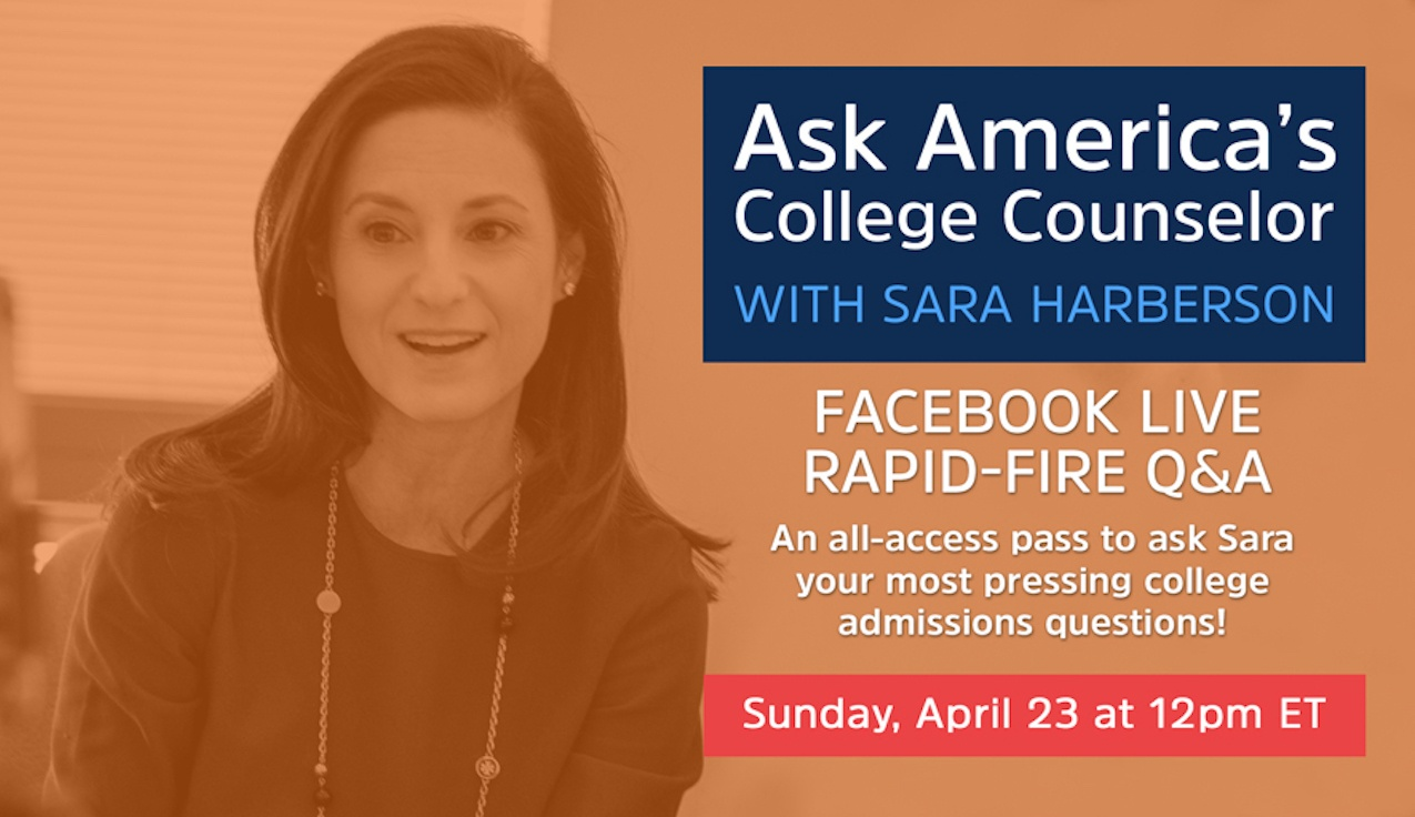 Facebook Live Recap and Bonus Questions: Ask America's College Counselor (4.23.17)