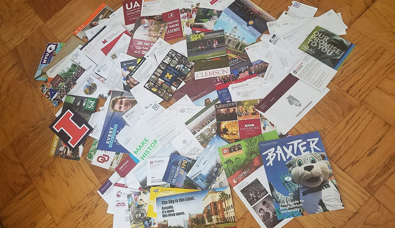 Got College Mail? Here's What It Means