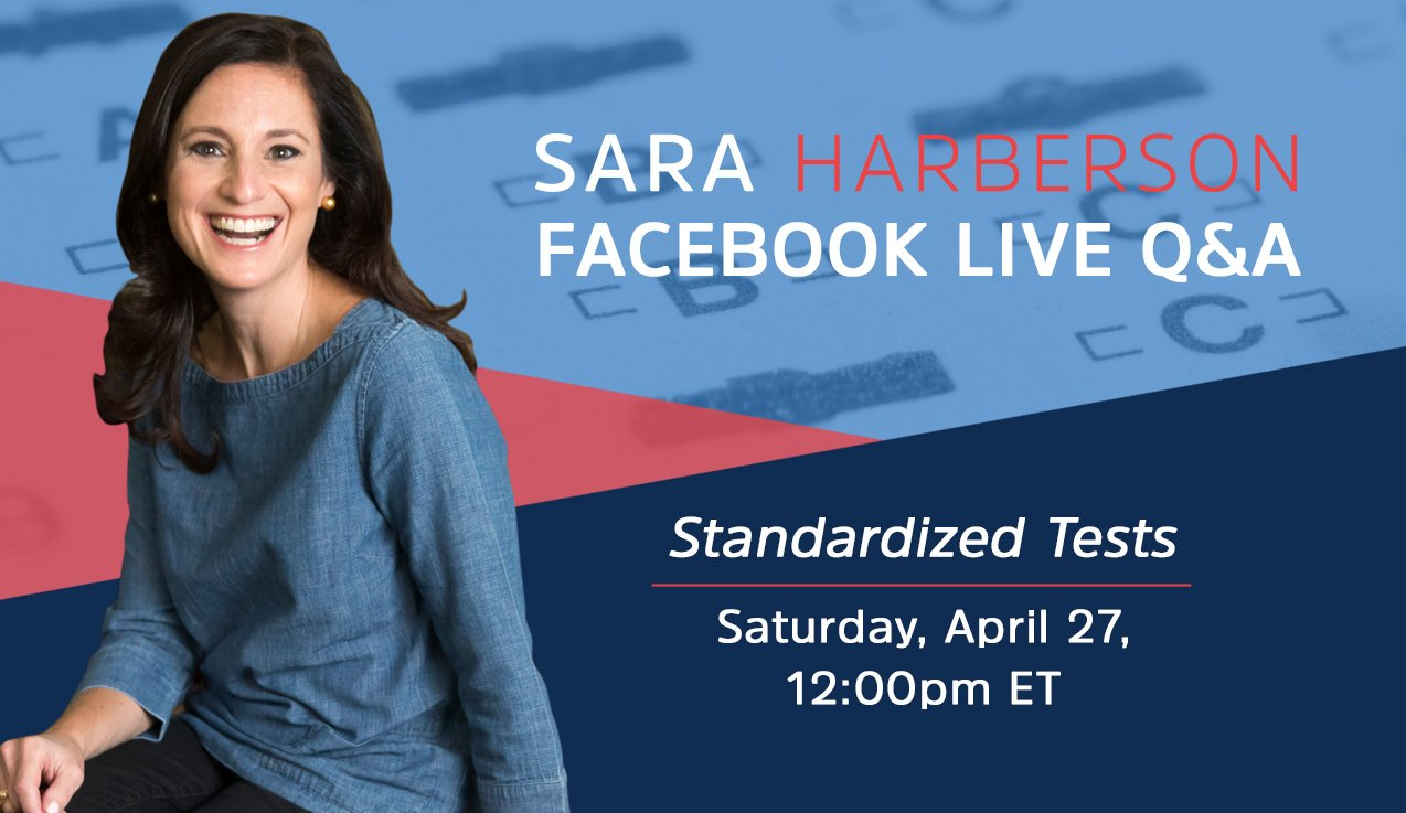 Facebook Live Recap: Standardized Tests