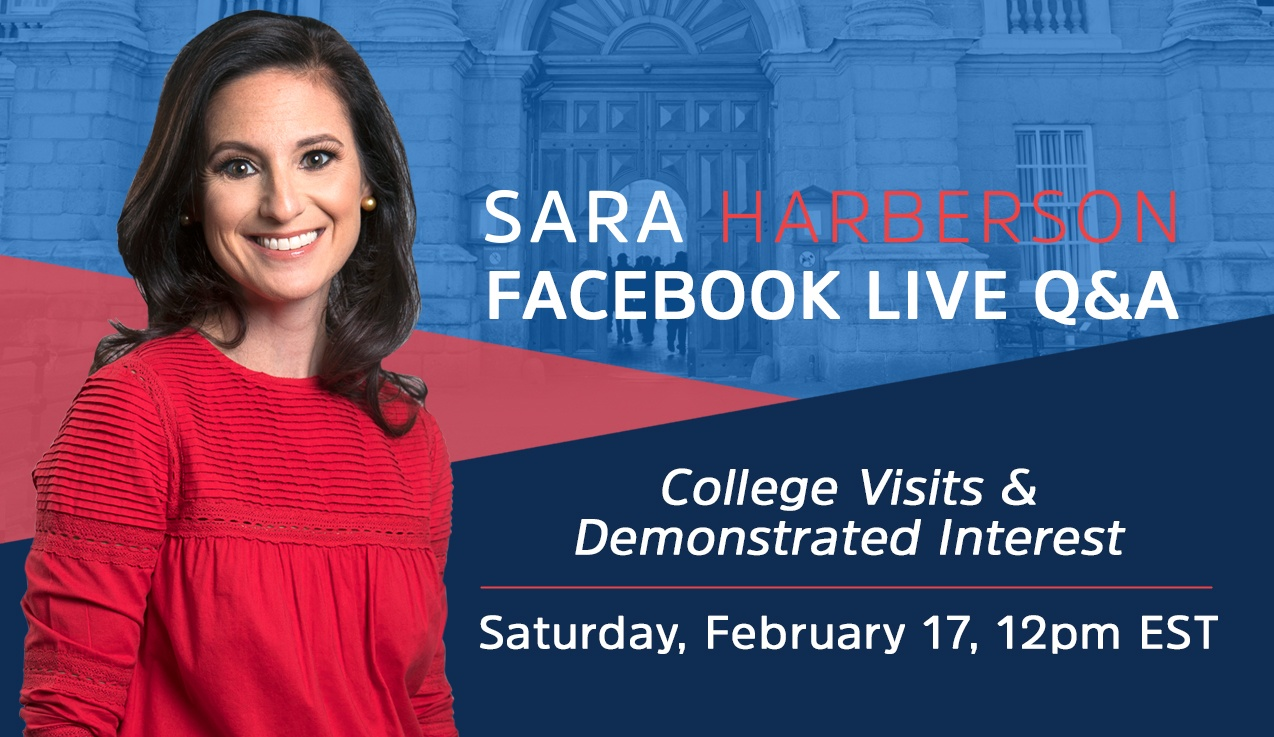 Facebook Live Recap and Bonus Questions: College Visits & Demonstrated Interest