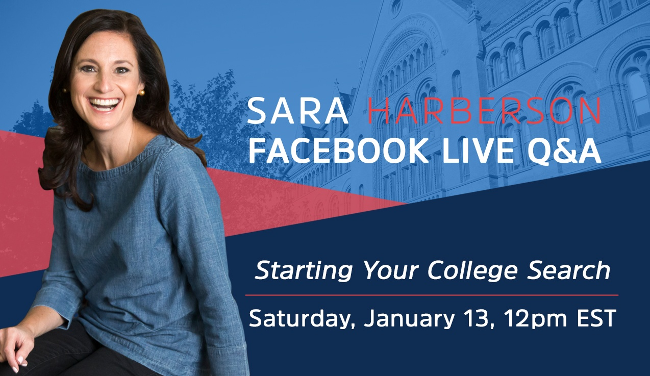 Facebook Live Recap and Bonus Questions: Starting Your College Search