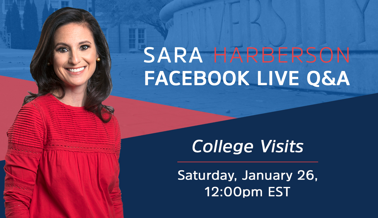 Facebook Live Recap: College Visits