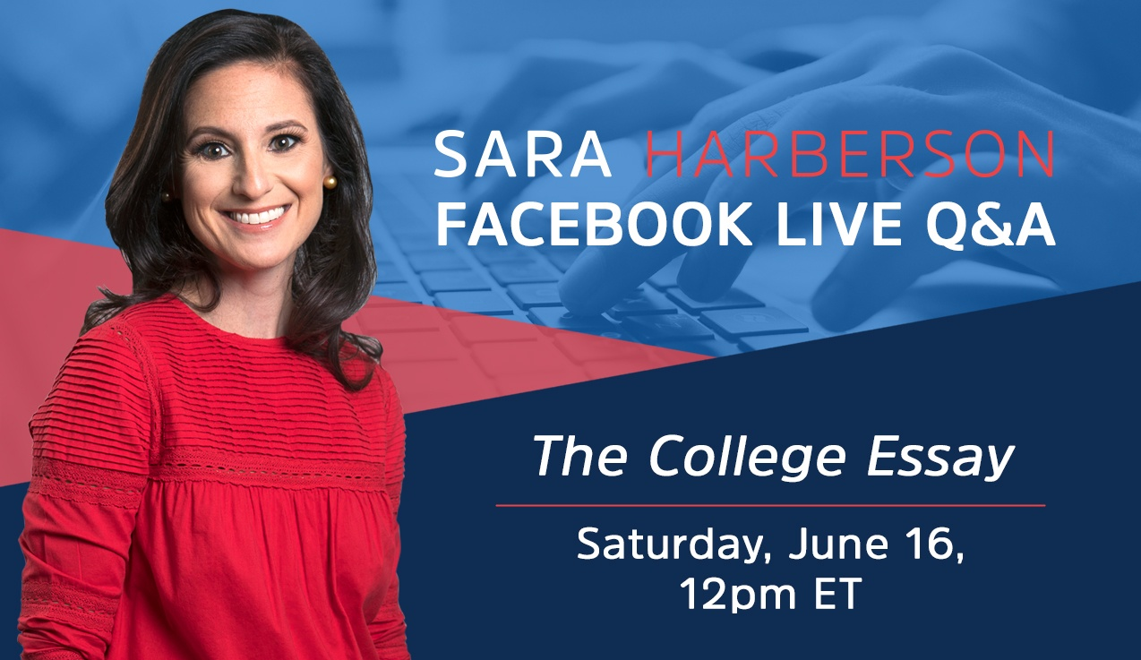 Facebook Live Recap and Bonus Questions: The College Essay