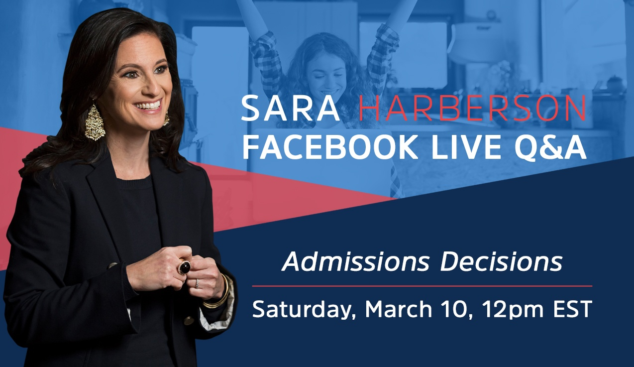 Facebook Live Recap and Bonus Questions: Admissions Decisions