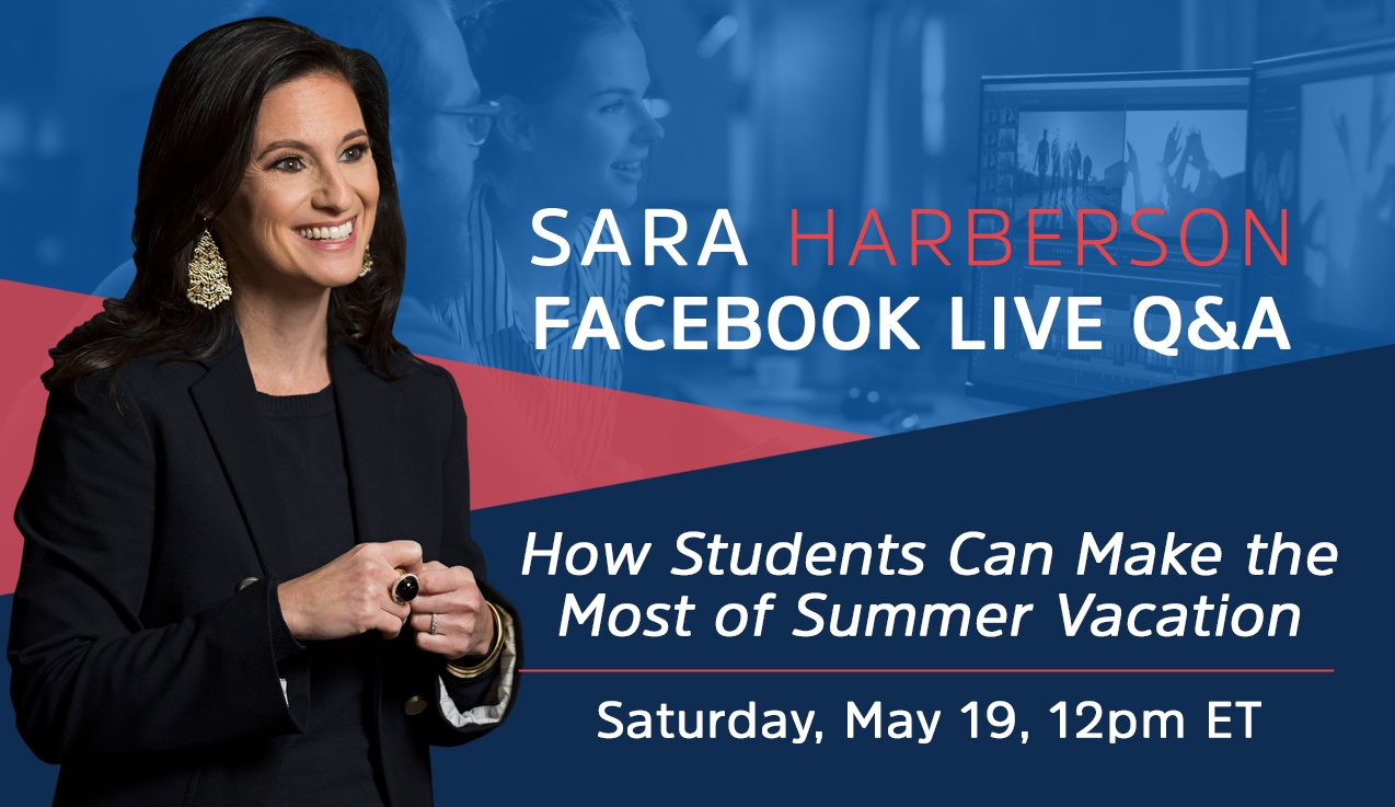 Facebook Live Recap and Bonus Questions: How Students Can Make the Most of Summer Vacation