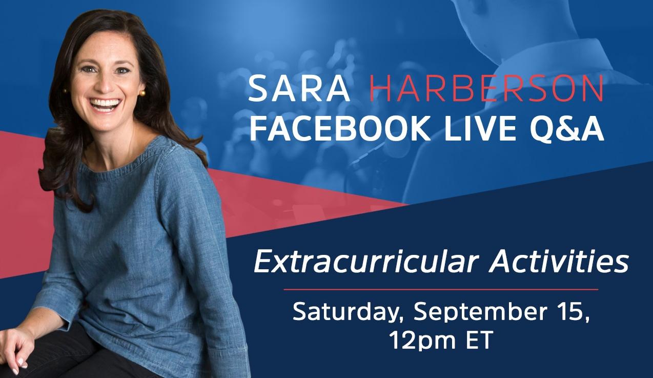 Facebook Live Recap: Extracurricular Activities